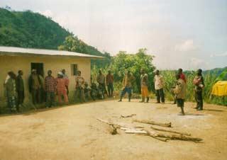 Installation des jeunes démobilisés