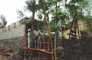 Mise en place d'un atelier de formation en menuiserie à Goma, RDC