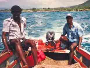 Départ pour la pêche côtière en Haïti