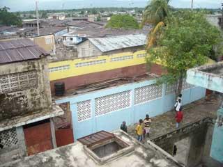 Cyclone Hanna : Le toit de l'école St Alphonse s'est effondré