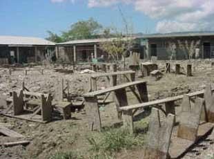 Passage du cyclone Noël sur Haïti