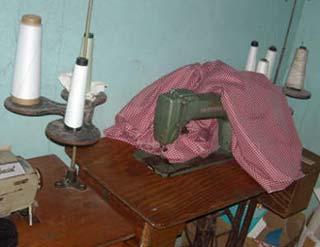 Projet d'un atelier couture pour la confection des uniformes des élèves de l'école St Alphonse, Cité Soleil en Haïti