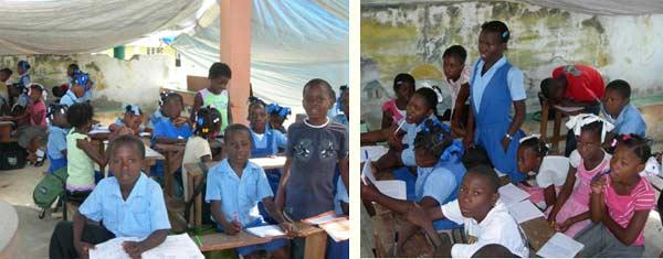 Classe provisoire dans l'école annexe St Alphonse de Fourgy