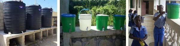 Diverses mesures prises contre le choléra dans les écoles St Alphonse