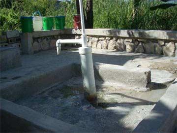 Le puits de l'école St Alphonse de Fourgy