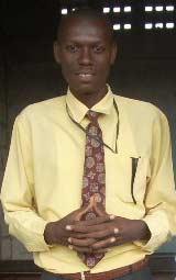 Le Directeur de l'école St Alphonse de Cité Soleil