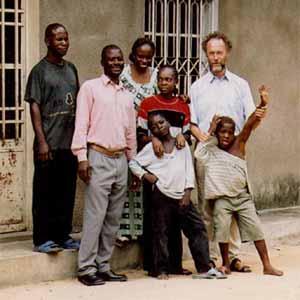 Les animateurs du Centre Ndako Ya Biso à Kinshasa