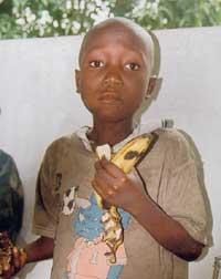 les enfants sorciers en RD du Congo
