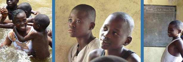 Quelques enfants à parrainer avec SOS Enfants