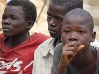 Enfants des rues de Kinshasa