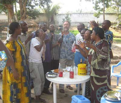 Fête des voisins à Kinshasa