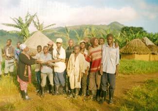 Distribution des intrants agricoles aux jeunes démobilisés