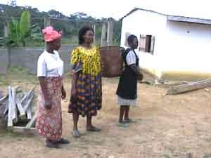 villageoises de Nkolnguet