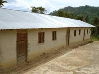 L'école primaire de Kakonze après réhabilitation