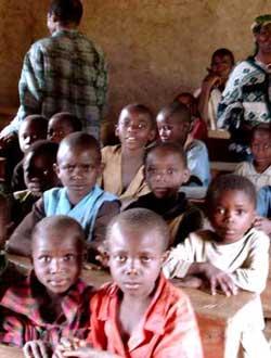 Rentrée des classes à Kakonze
