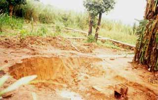 Creusement des fondations d'une école