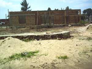 Démarrage du chantier pour le nouveau centre d'accueil du Point d'Ecoute au Rwanda