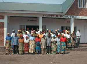 Inauguration du nouveau centre d'accueil, les parents