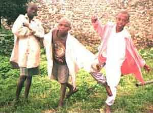 enfants des rues au Rwanda les danses traditionnelles