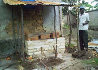 Foyer de cuisson amélioré ou rondereza, Rwanda