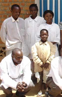 Suivi médical des orphelins du Sida au Rwanda