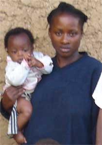Fratrie d'orphelins du sida au Rwanda