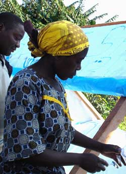 Jeune fille du Rwanda