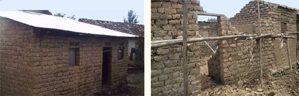 Les maisons délabrées des orphelins du sida