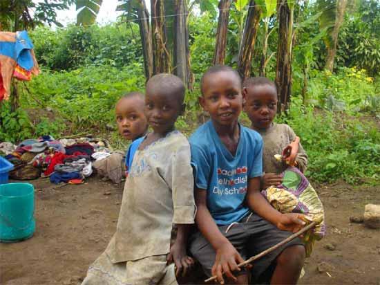 Orphelins du sida du Rwanda