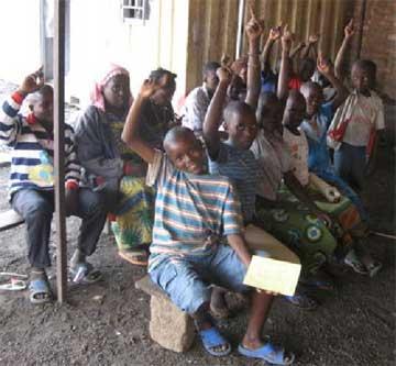 Rassemblement des orphelins du Sida de la zone de Gisenyi