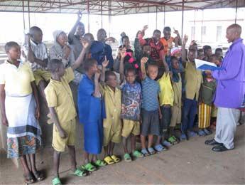 Rassemblements des orphelins du sida de Gisenyi