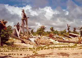 Le cyclone Ivan sur Madagascar