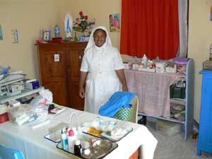 Le dispensaire de l'orphelinat Saint Joseph