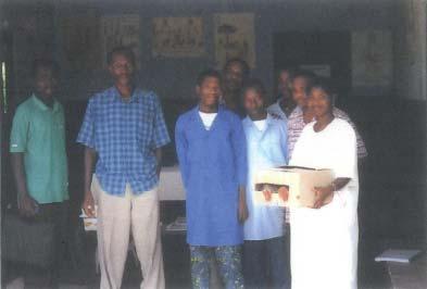Dispensaire à Anyron au Togo