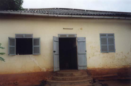 Dispensaire à Badja au Togo