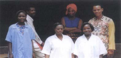 Dispensaire à Bagbé au Togo