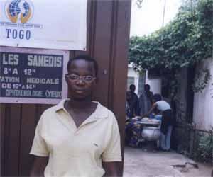 Les montures Styl'optique ont, entre autres, été distribuées aux enfants du Togo