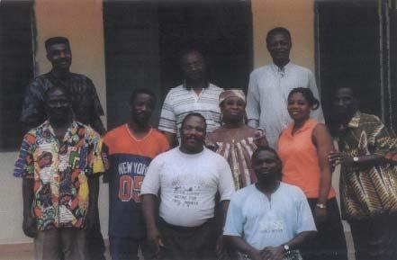 Dispensaire à Noépé au Togo