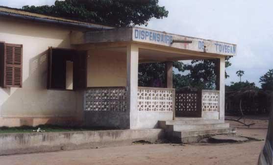 Dispensaire à Tovégan au Togo