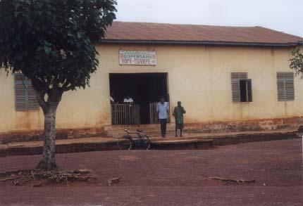 Dispensaire à Yopé Tsivieppé au Togo