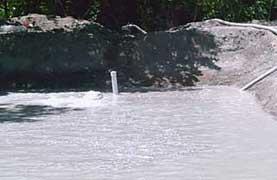 Remplissage du premier bassin